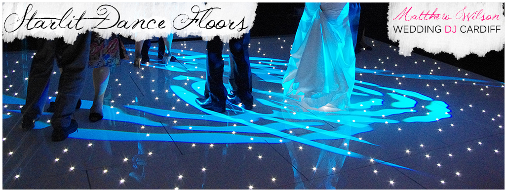Starlit LED Dance Floor Hire Cardiff