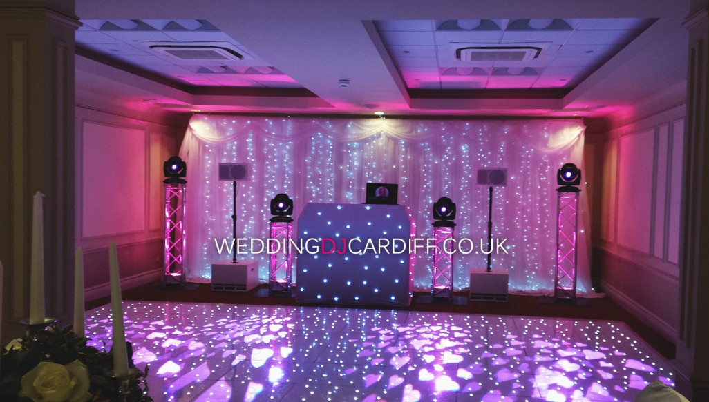 South Wales Starlight Backdrop Hire