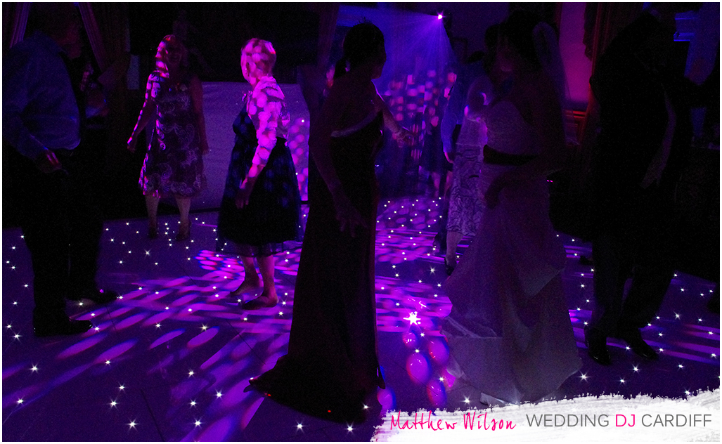 LED Dance Floor Hire Cardiff South Wales