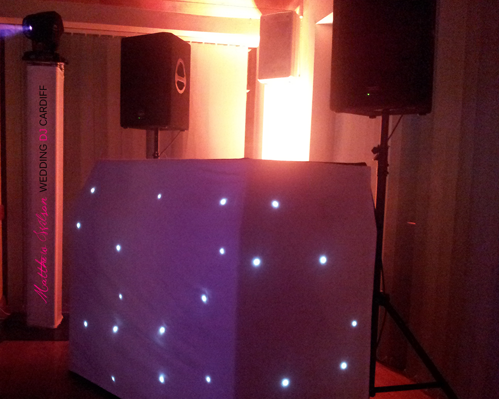 Wedding DJ Cardiff South Wales