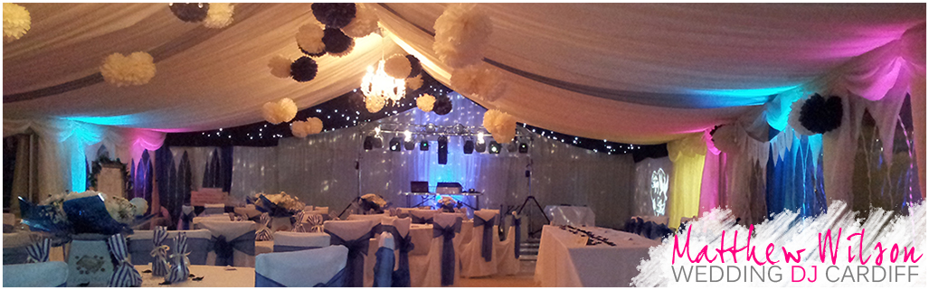 Various Marquee Weddings South Wales