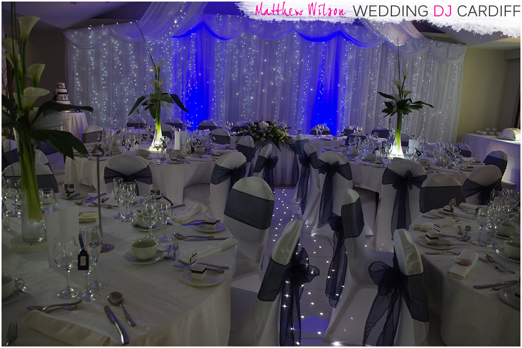 Wedding Drape Hire Wales
