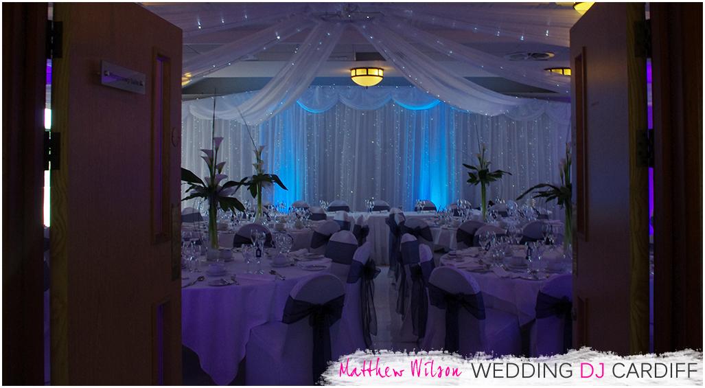Morgannwg Suite Wedding