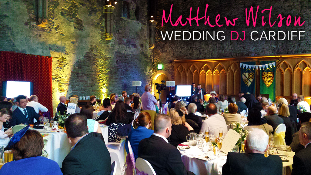 Caerphilly Castle Wedding