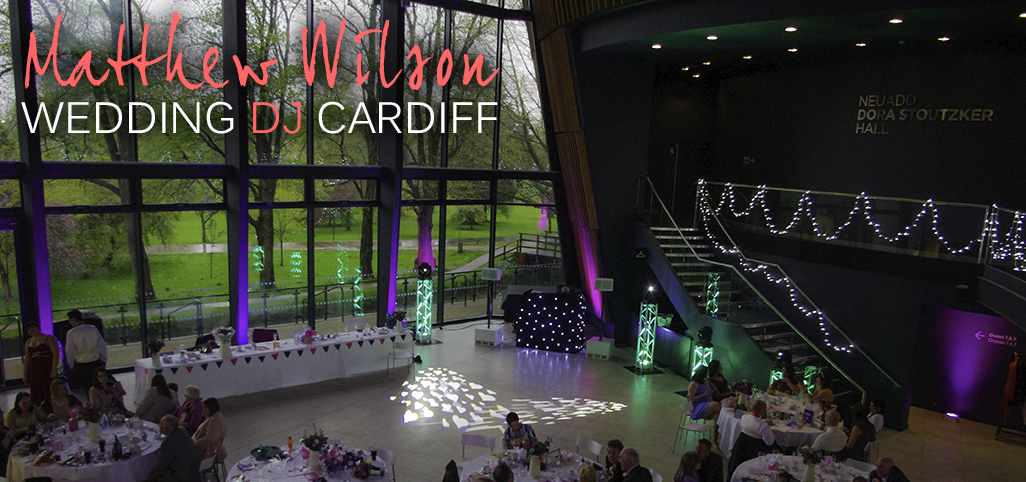 Royal Welsh College of Music Wedding