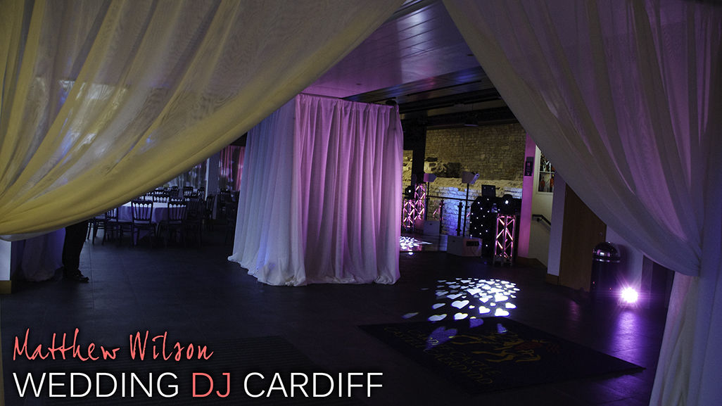 Wedding DJ Cardiff Castle